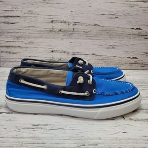 Sperry Mens Slip on Casual Canvas Shoe